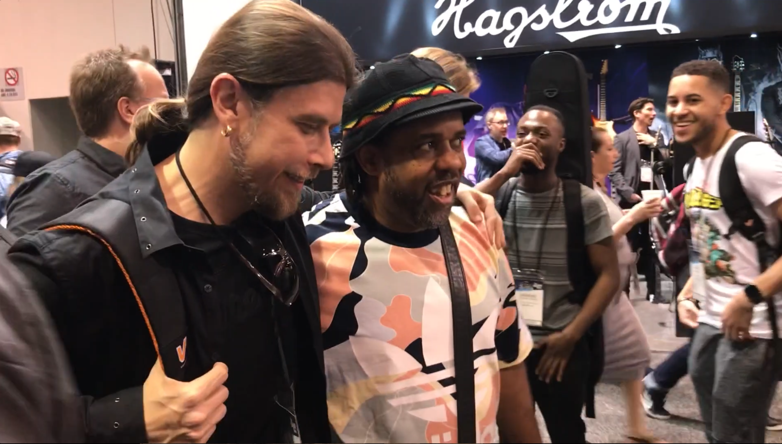 Oytun Ersan and Victor Wooten NAMM 2019 (2).png
