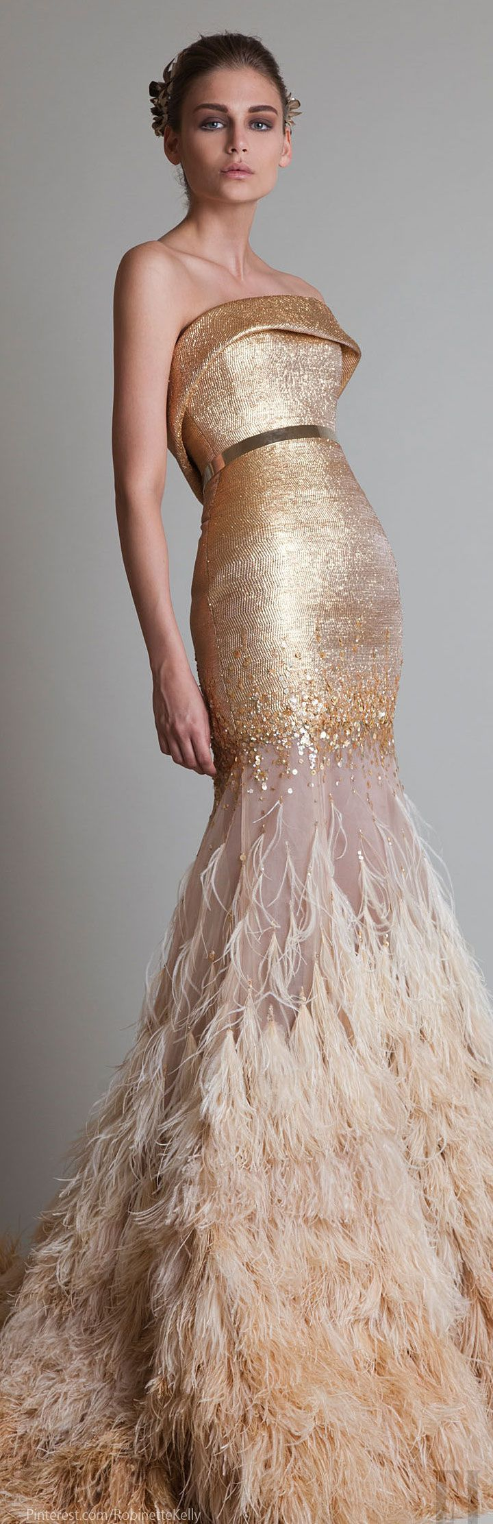 by Krikor Jabotian Couture 2014