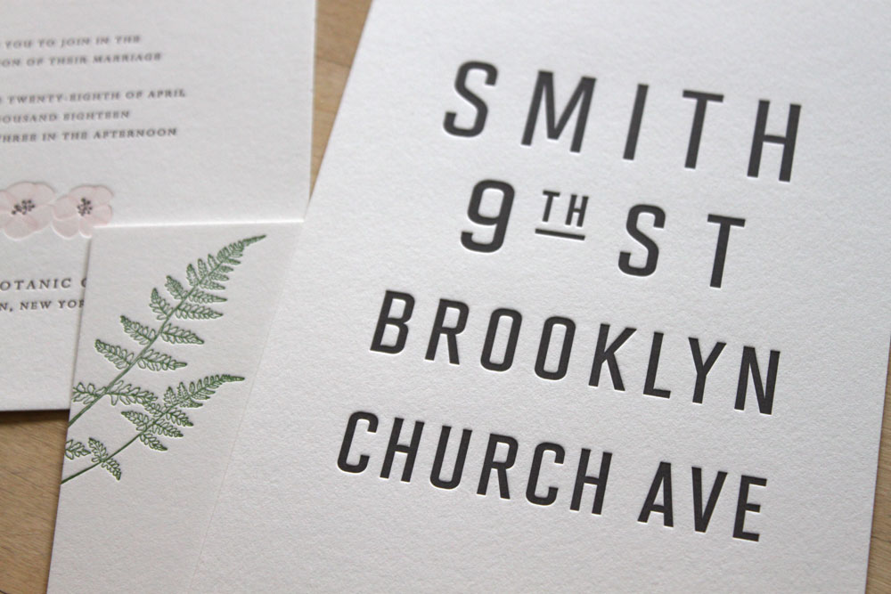 New York City Themed Wedding invitations