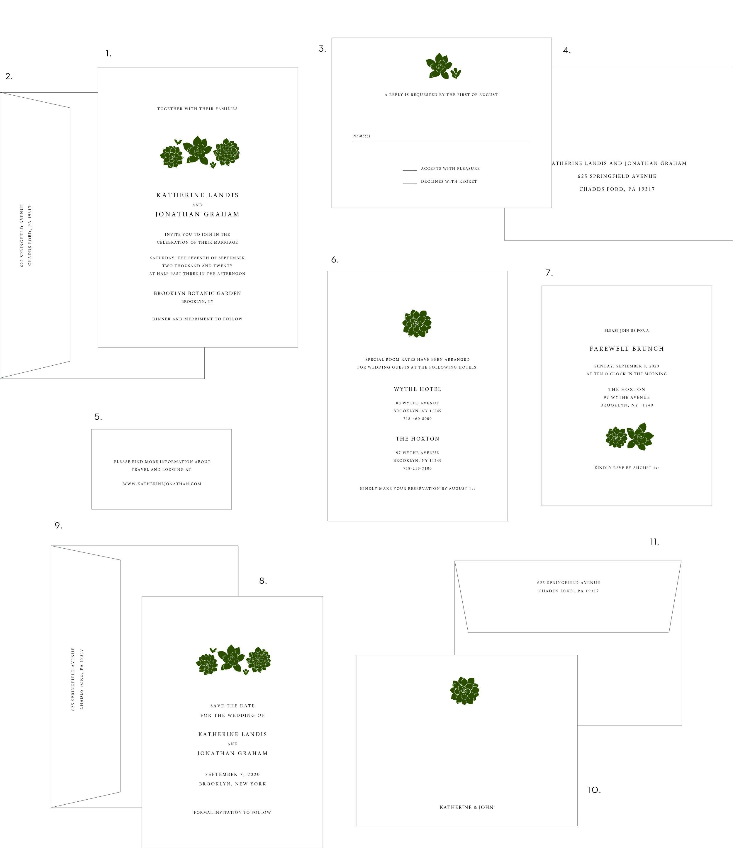 Letterpress Wedding Invitation Succulents Style.jpg