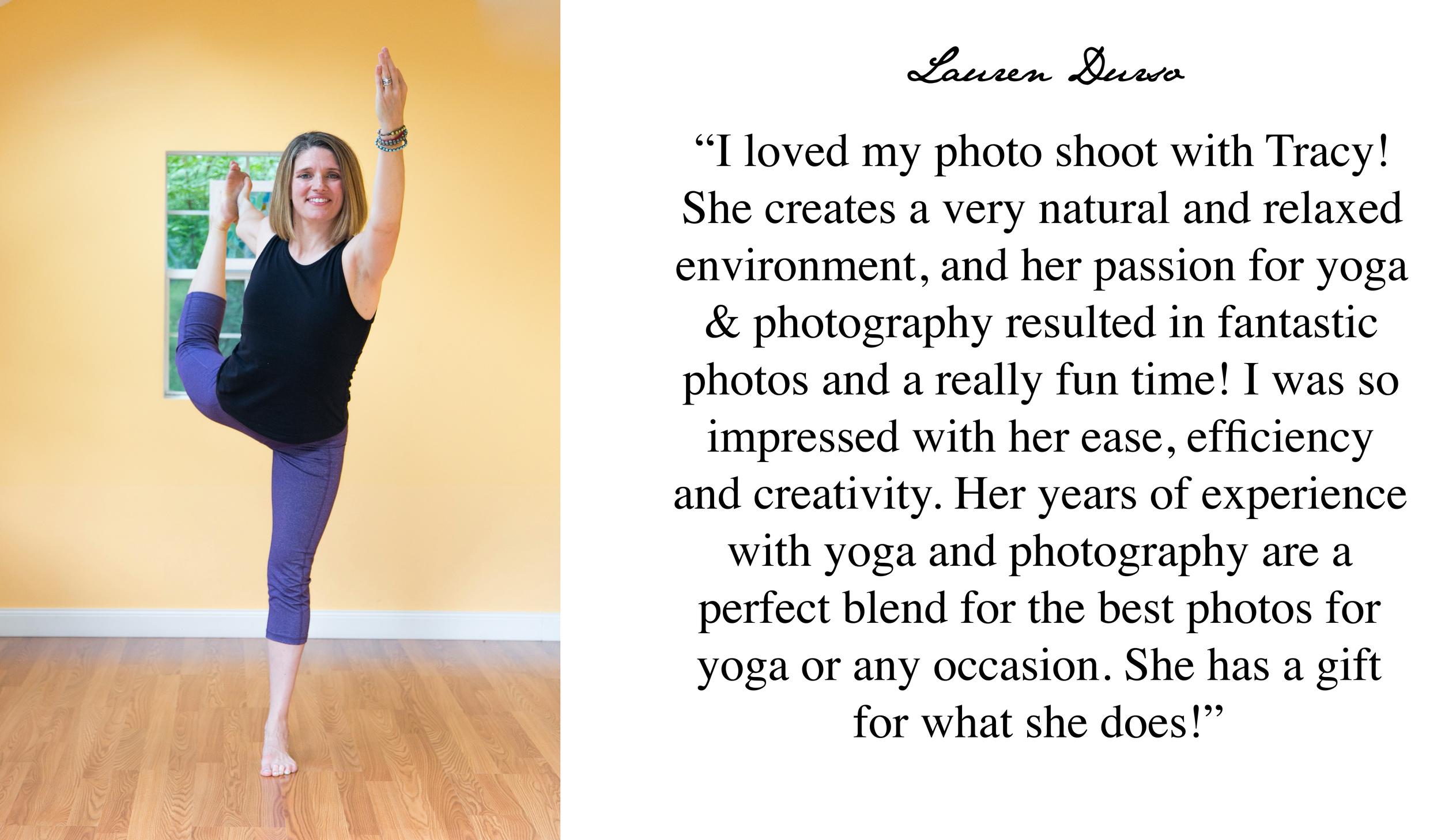 Boston Yoga Photographer 5 Star Review