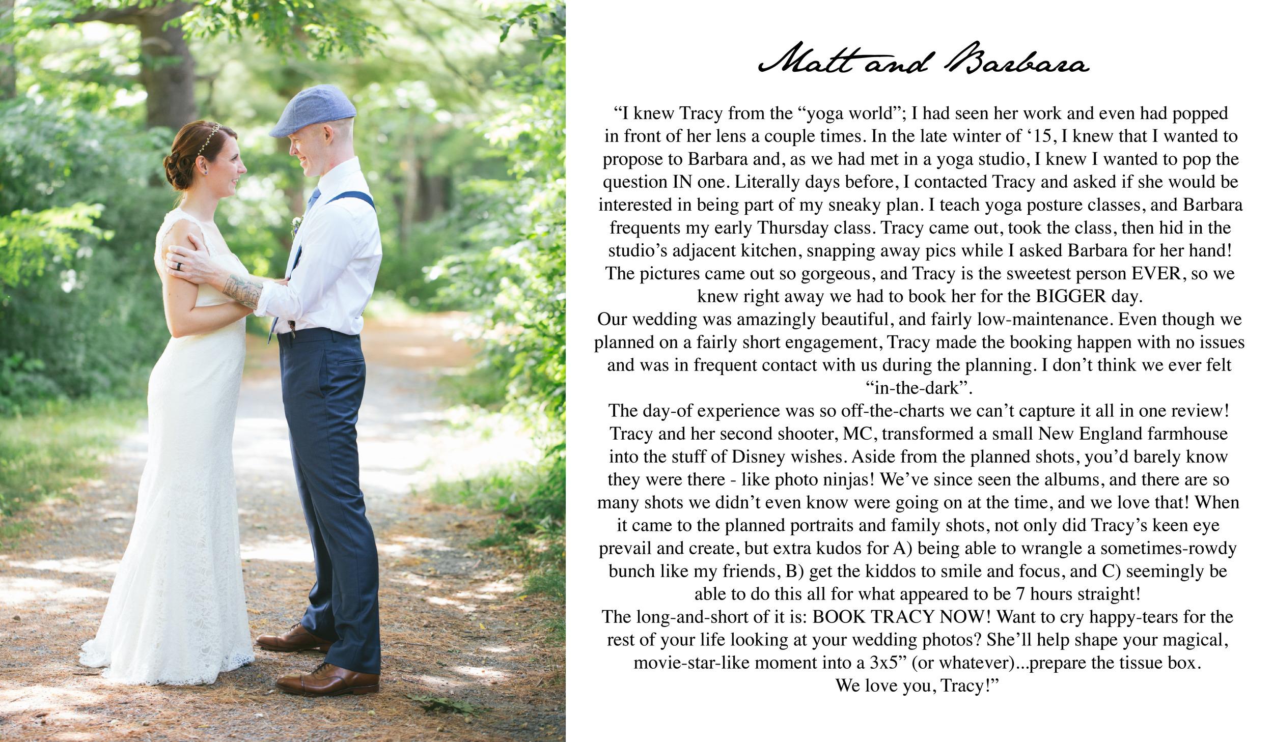 Boston Wedding Photographer Review