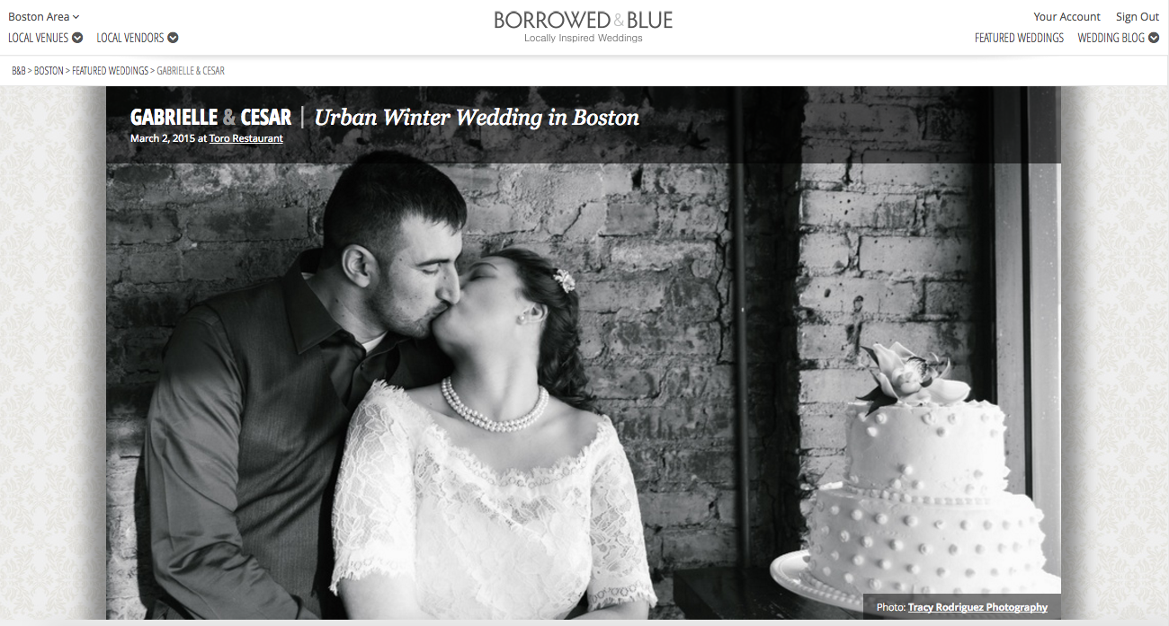 Boston Wedding Photography by Tracy Rodriguez Photography