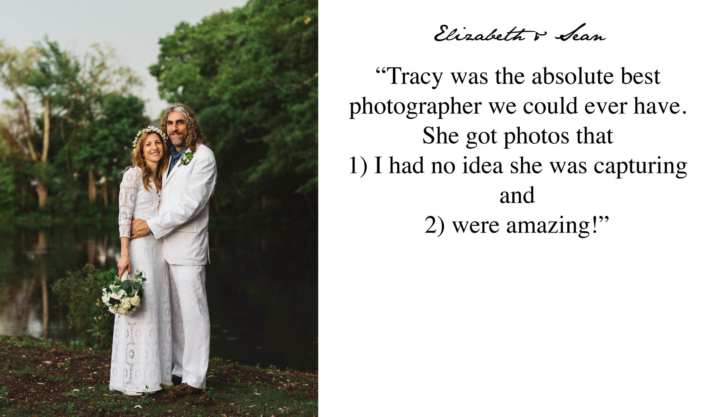 5 Star Wedding Review - Boston Intimate Wedding Photographer