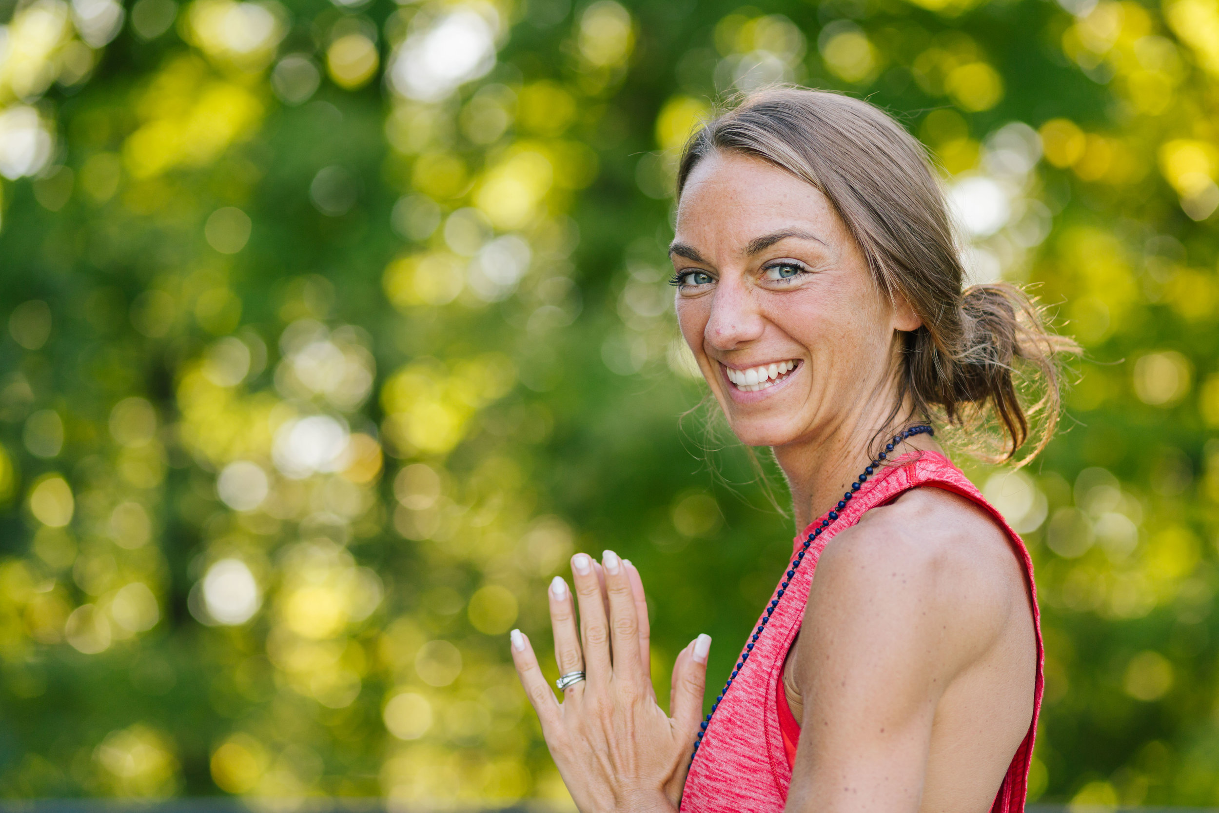 Featured here, the lovely  Sarah Oleson  from our yoga mini sessions with  The Yoga Tree ,Haverhill, MA