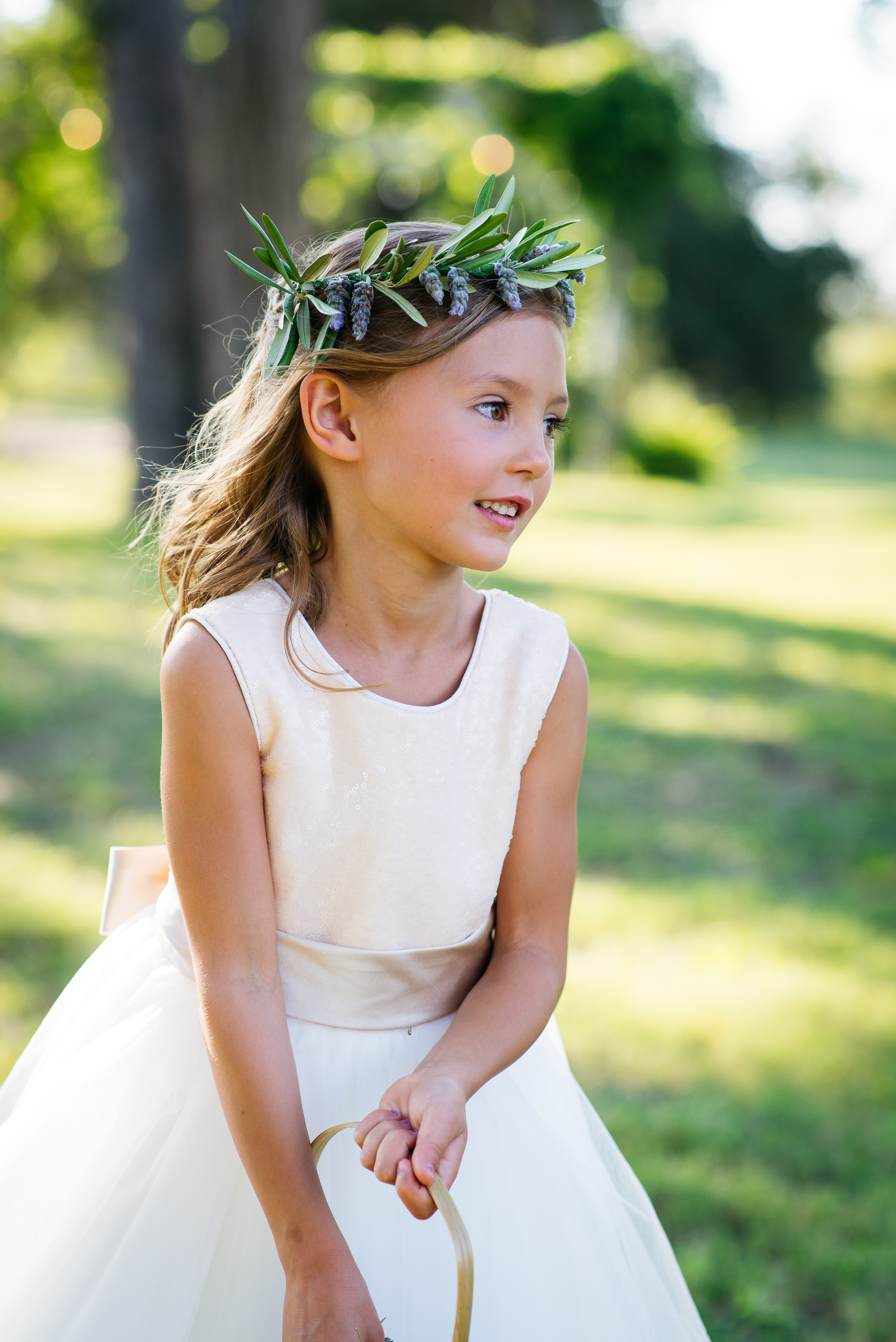Our beautiful flower girl neice