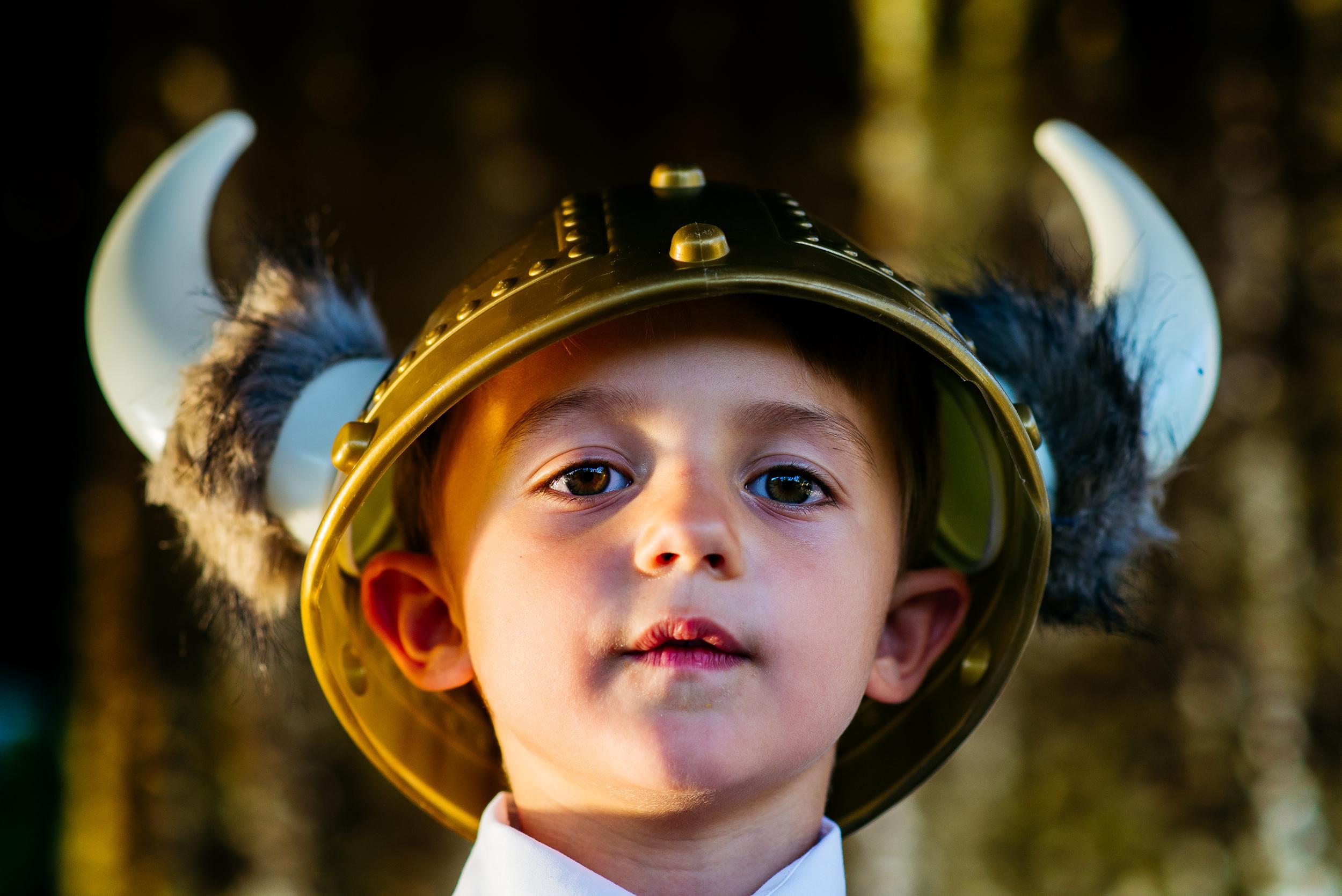 Little dude--the viking