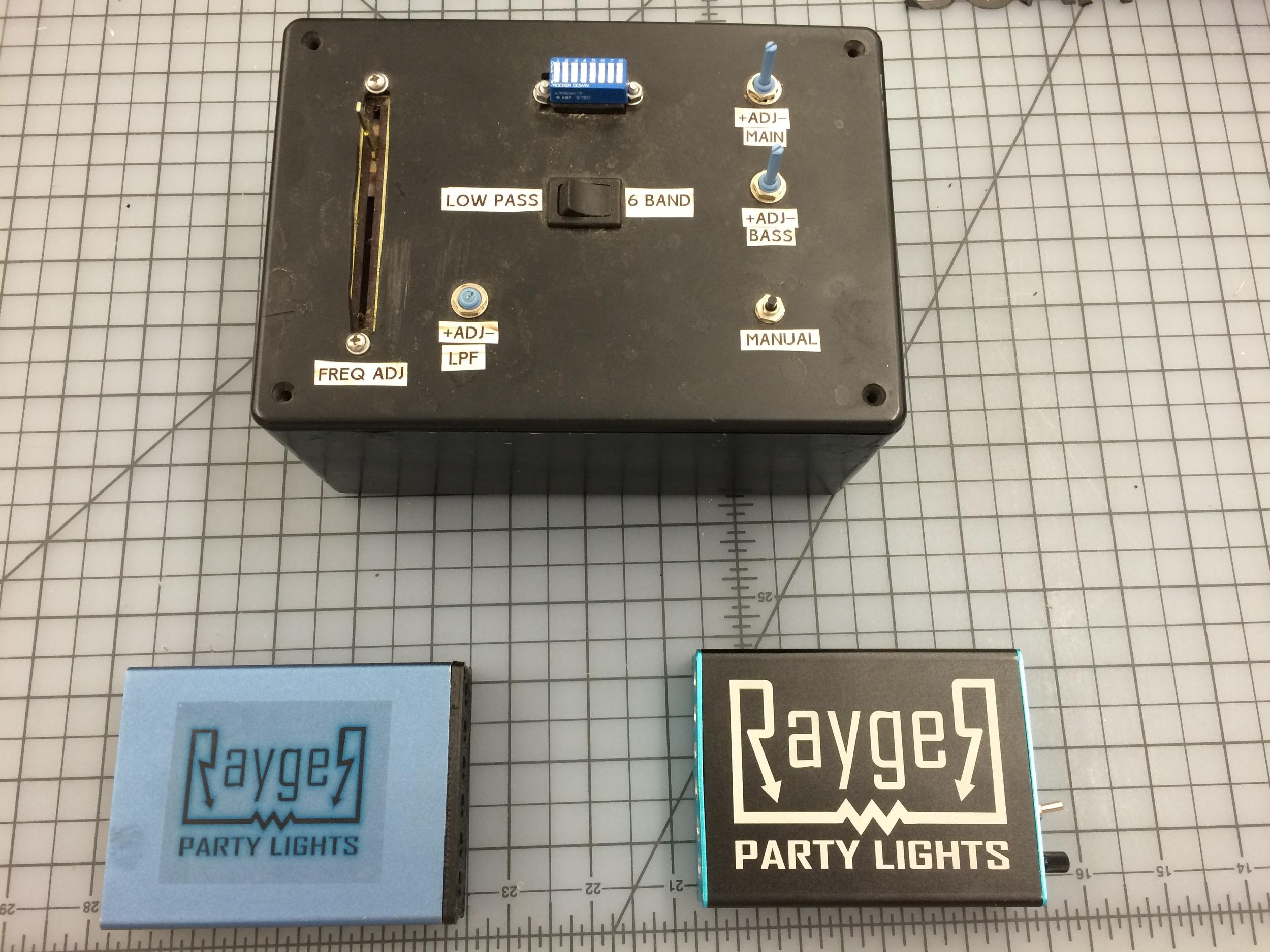 Evolution of all 3 majorRayger Prototypes