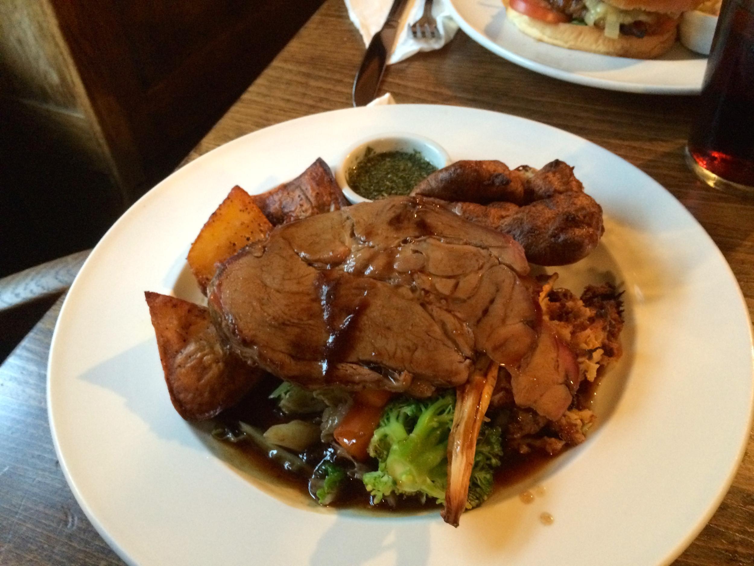 Sunday Roast: Lamb/Mint Edition