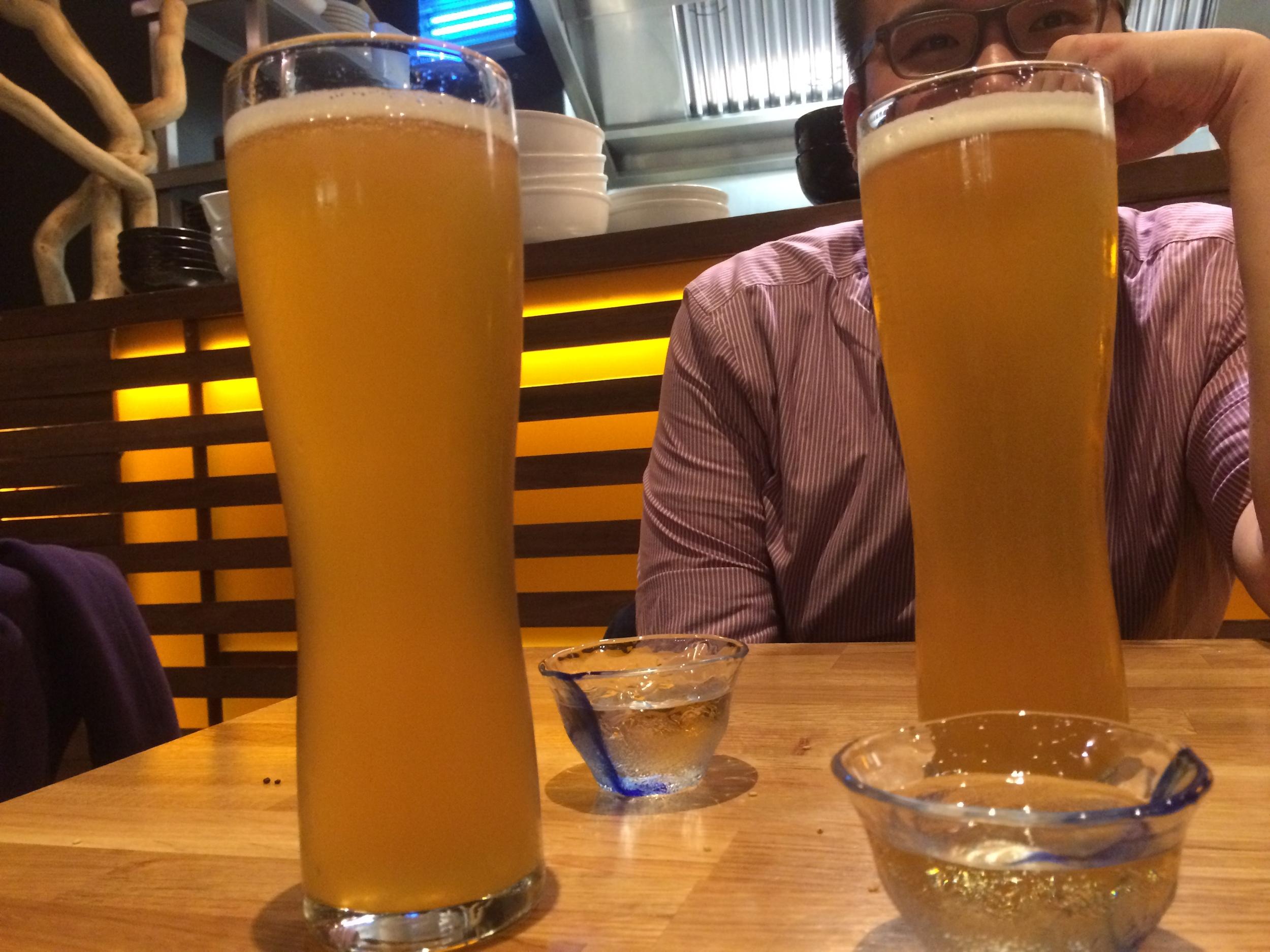 Kirin and Sake Bombs