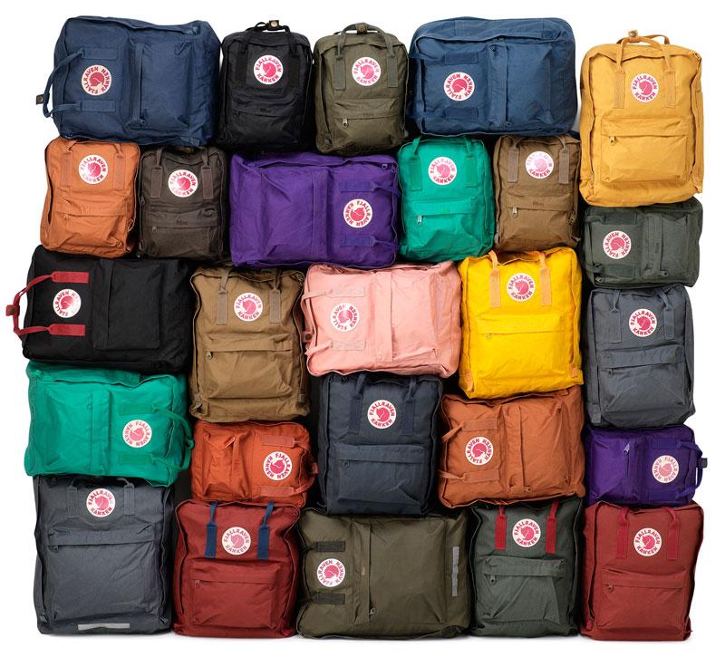 Fjällräven's Kånken Backpacks