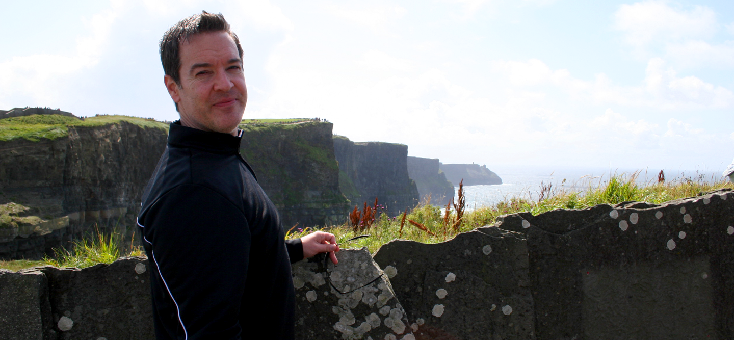 Me at the  Cliffs of Moher, Liscannor Co. Clare Ireland.
