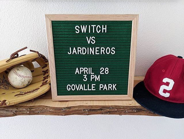 Come for some baseball...stay for some beer...@theaustinswitch vs. @jardinerosbaseball #sandlotrevolution #baseball #theaustinswitch #switchhitter #woodbatsonly #texasisthereason