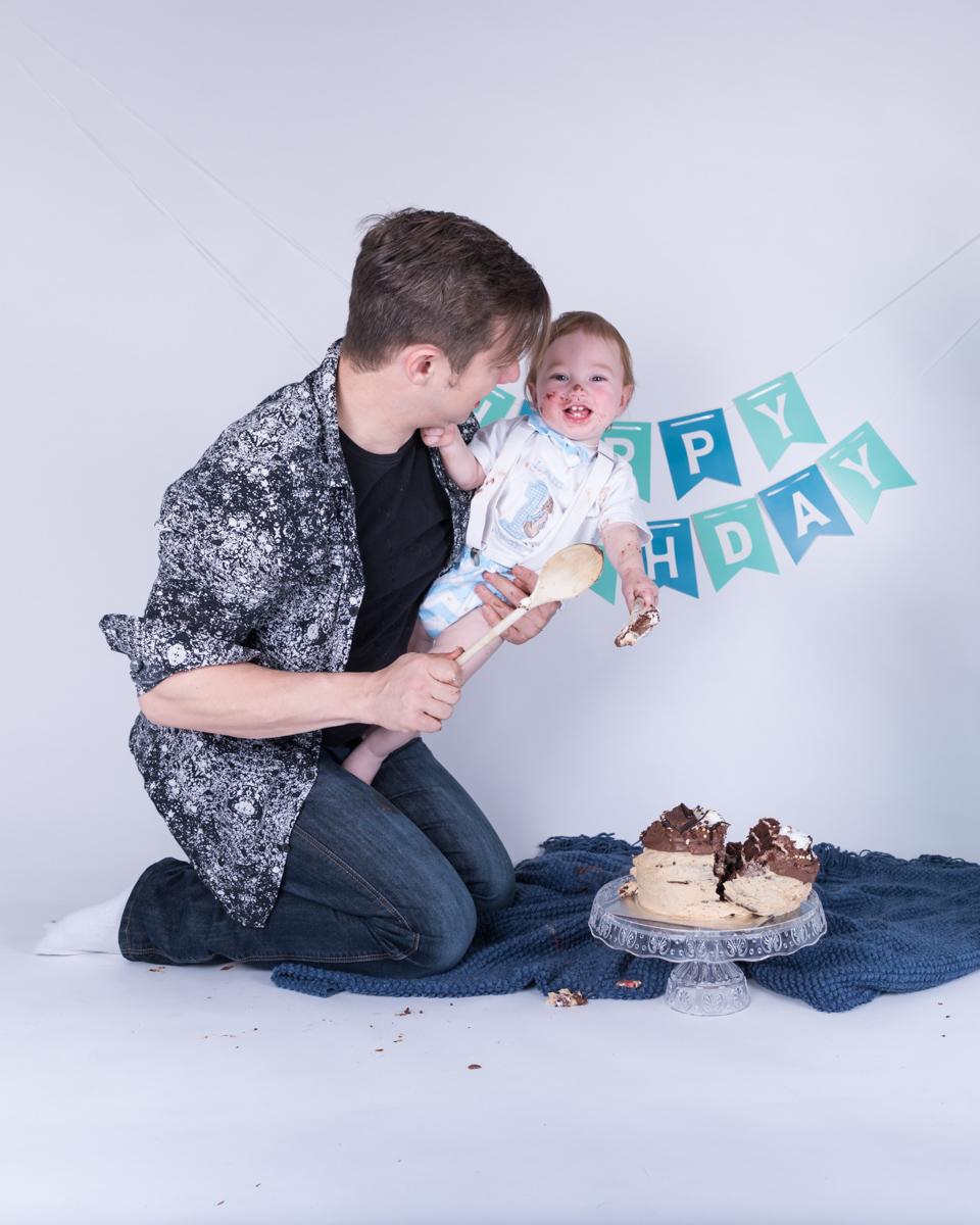 Baby Jack (12 months) Cake Smash-10.jpg
