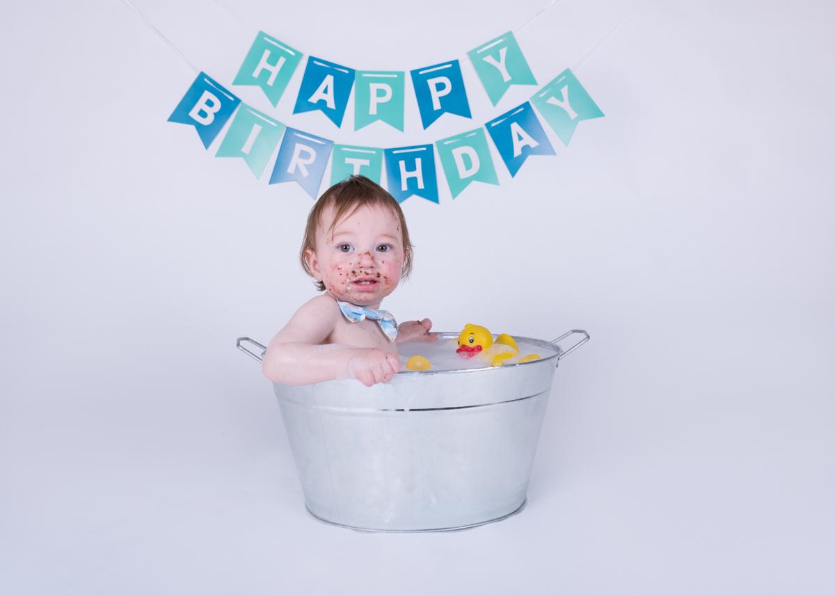Baby Jack (12 months) Cake Smash-22.jpg
