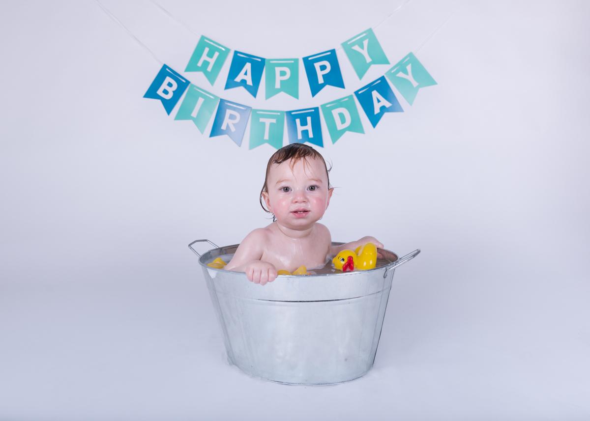 Baby Jack (12 months) Cake Smash-23.jpg