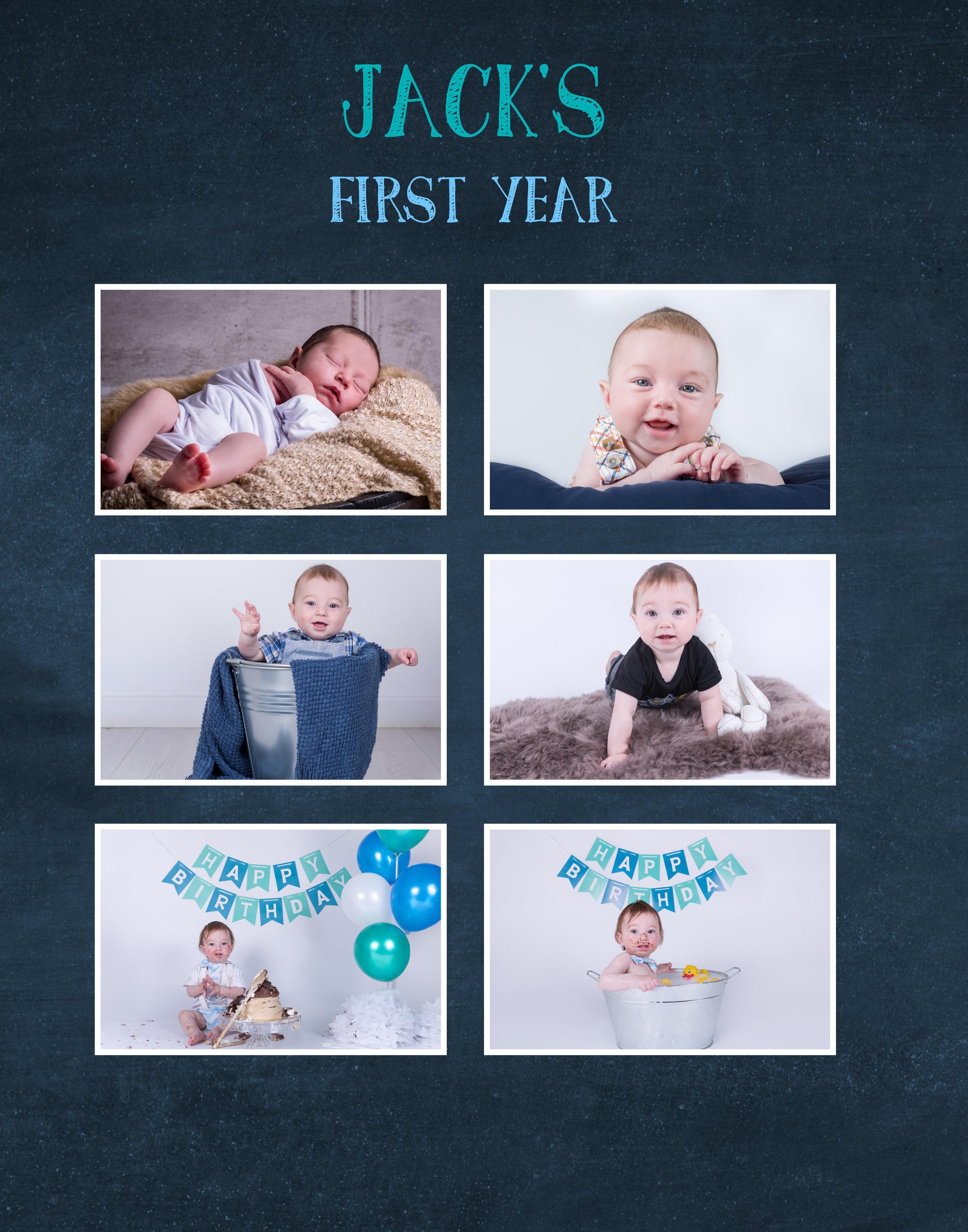 Baby Jack (12 months) Cake Smash-34.jpg