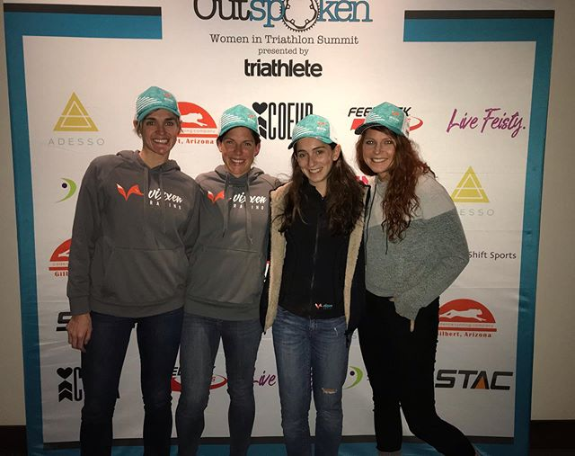 The Vixxens would like to tip our hats to the power houses behind the @outspokensummit. We had a wonderful time as a team and individuals growing in their amazing community of women's triathlon! @sara.gross, @tritodefi and the rest of your team, you should be so proud of the event you put together! See you next year!