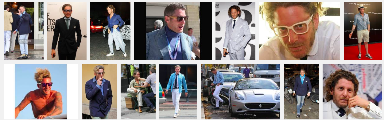 FIAT heir and ITALIA INDEPENDENT owner Lapo Elkann