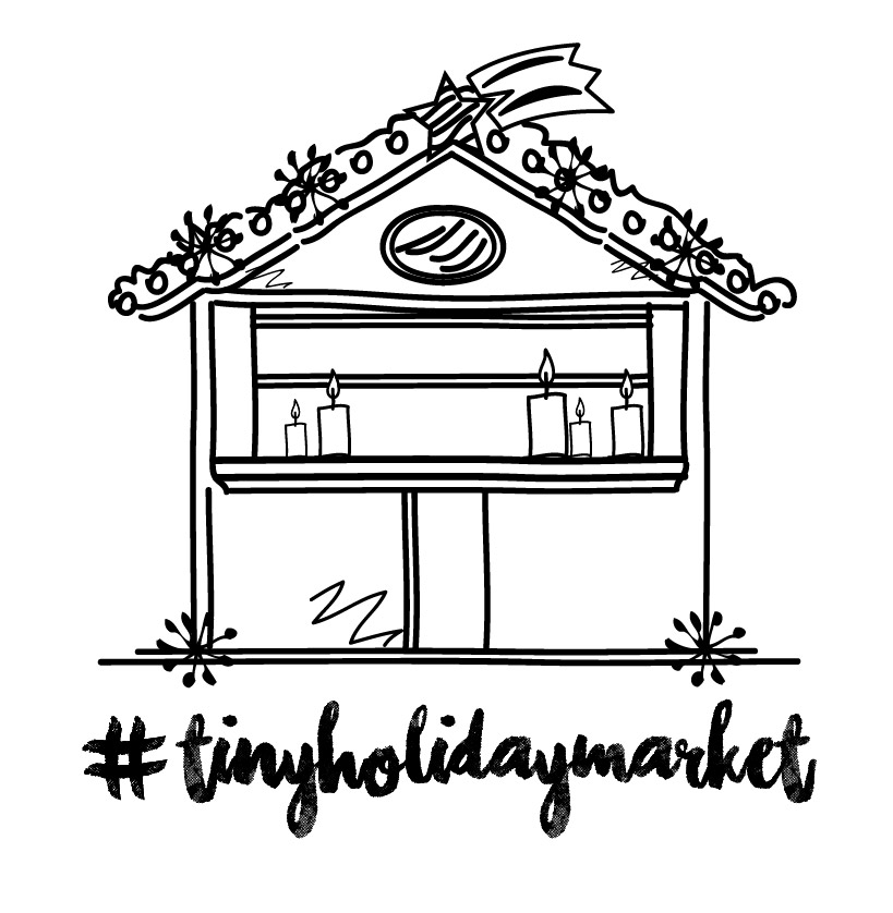 COME VISIT US AT THE #TINYHOLIDAY MARKET THIS SUNDAY, 4-7pm IN LAKE OSWEGO!