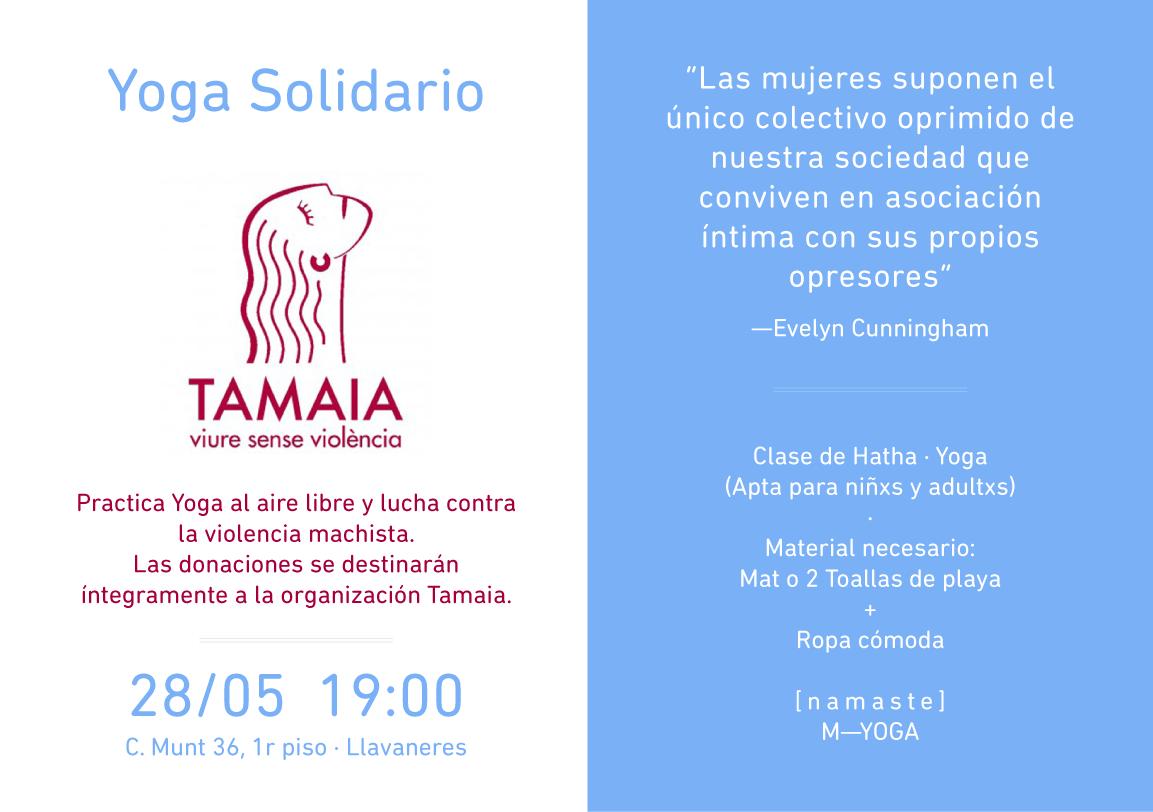 w  ∙  tamaia.org  t  ∙  93 412 08 83   e  ∙ comunicacio@tamaia.org