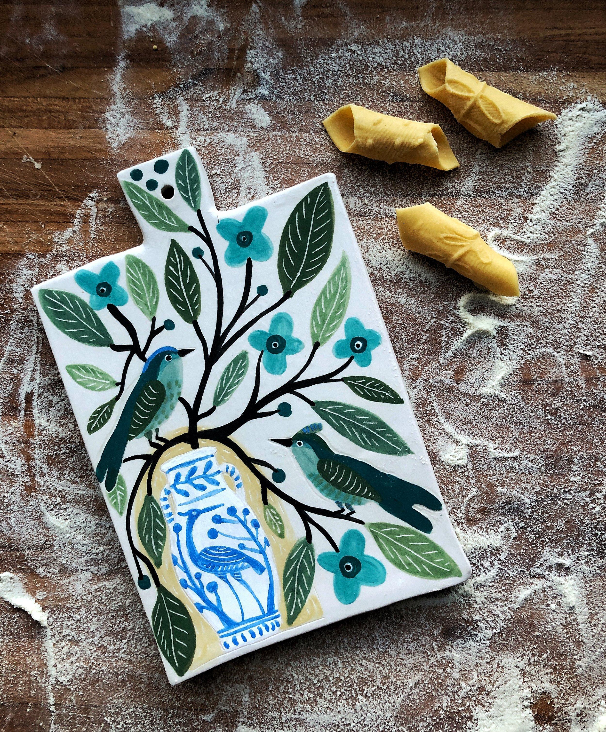 porcelain pasta board