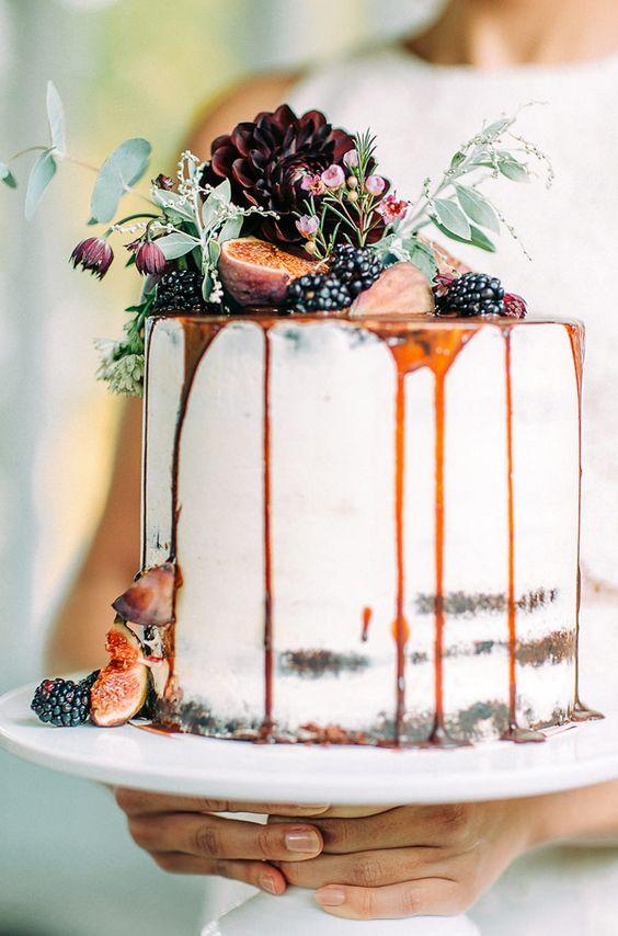 Cake - Pumpkin Wedding Inspiration, Autumnal Wedding Ideas, Autumn Wedding Style - Pingle Pie.jpg