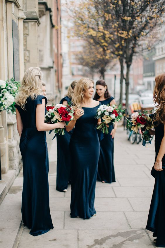 Winter Wedding Theme, Christmas Wedding Ideas, December Wedding Inspiration - Bridesmaids.jpg
