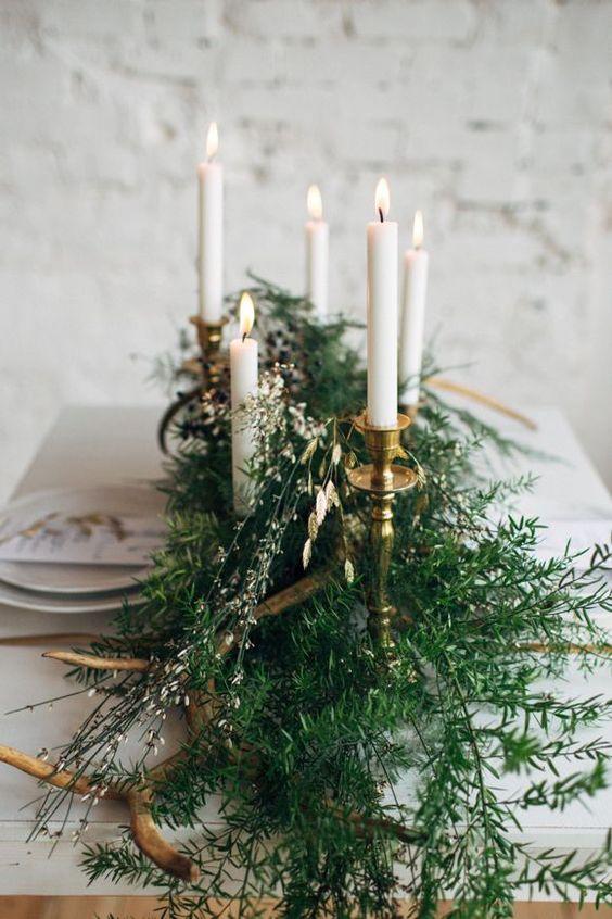 Winter Wedding Theme, Christmas Wedding Ideas, December Wedding Inspiration - Table Decor, Tablescape.jpg