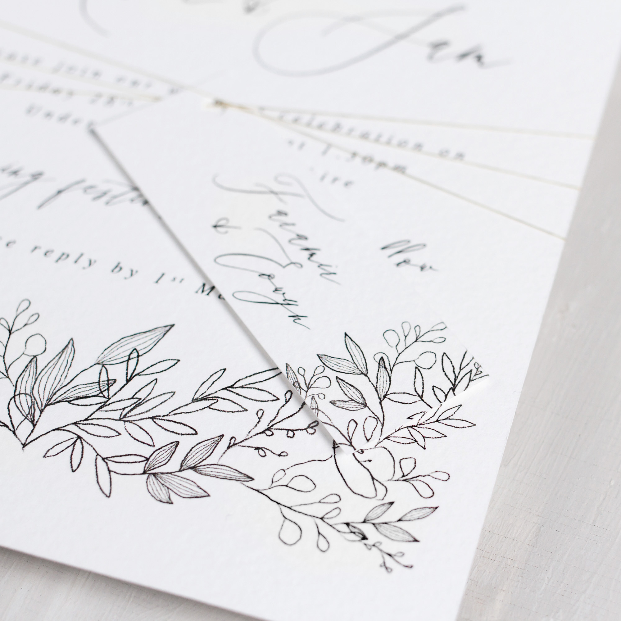 Luxury-Wedding-Stationery-Unique-Illustrated-Floral-Botanical-Leaves-Flowers-Spring-Summer-Wedding-Invitation-Parcel-Close-Up-Goldberry-Pingle-Pie.jpg.jpg