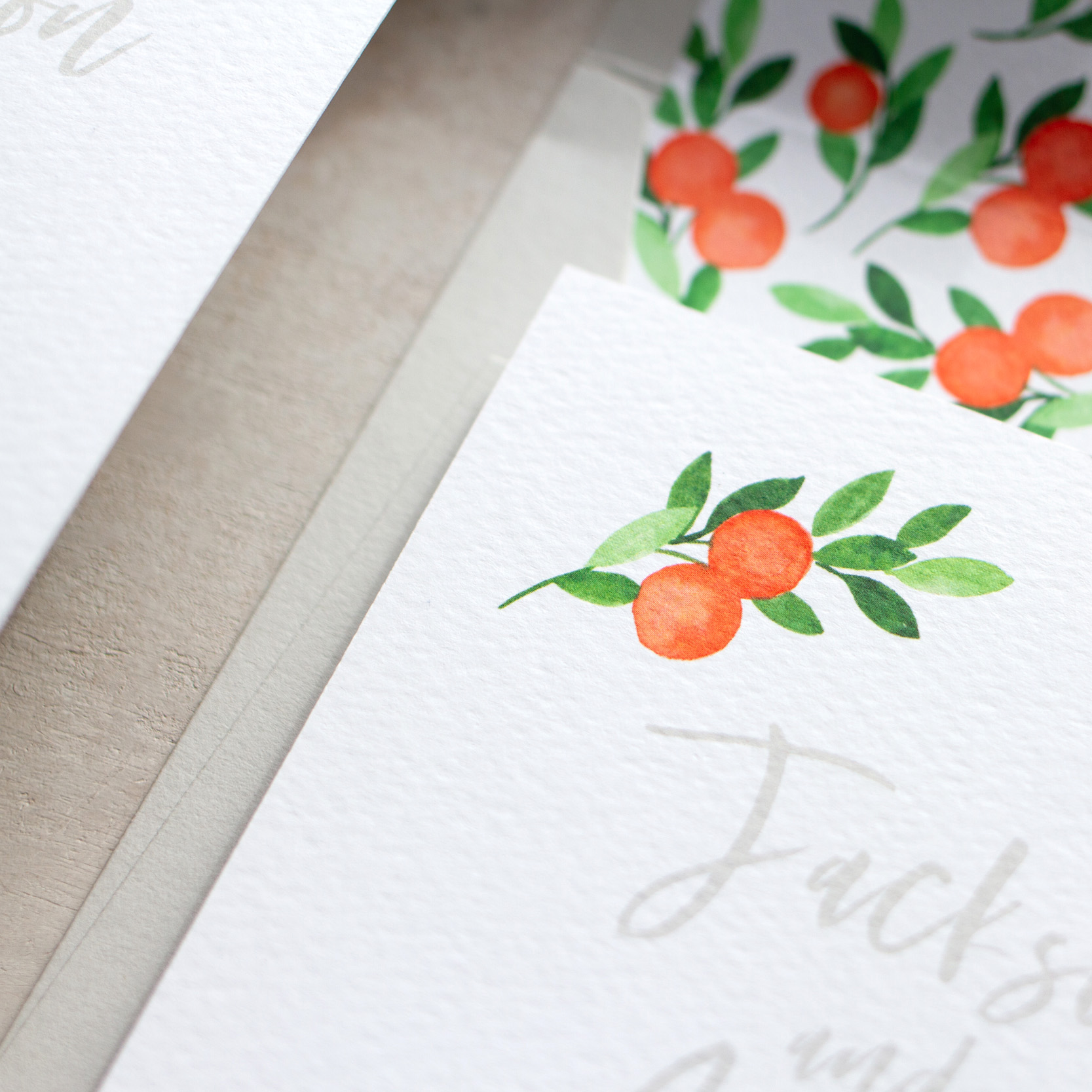 Citrus Orange Wedding Decor, Earthy and Luxury, Eco Friendly Wedding Stationery, Orange Wedding Decor, Watercolour Wedding Staionery, Custom Wedding Stationery 11.jpg
