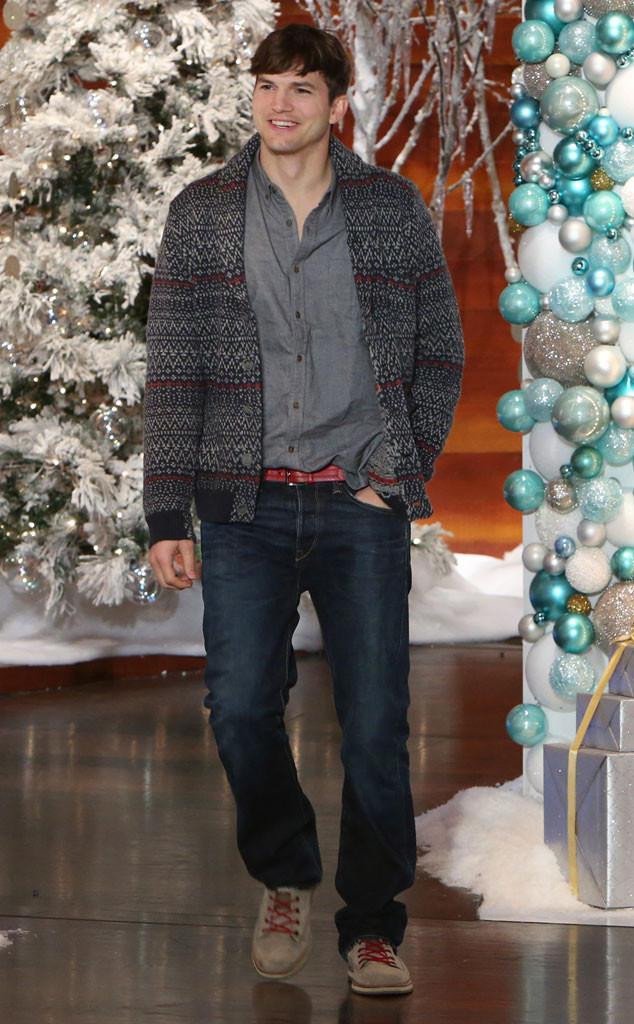 Ashton Kutcher on Friday's 'Ellen' (Michael Rozman/Warner Bros.)