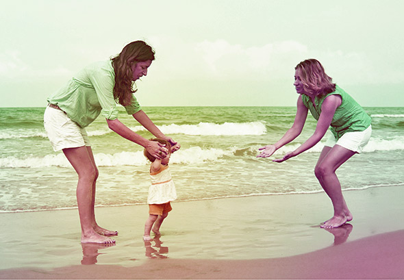 """For lesbian parents, the presumption of """"paternity"""" doesn't fit, at least not literally. A  mater  isn't a  pater  . Photo illustration by Slate. Photo by Thinkstock."""