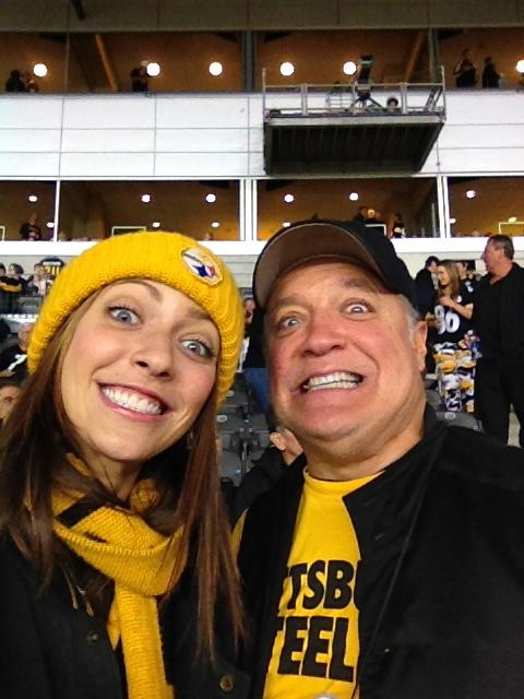 """Katie and her dad, Jim Rogan, a.k.a. her """"favorite person."""" (Photo: Katie Rogan)"""