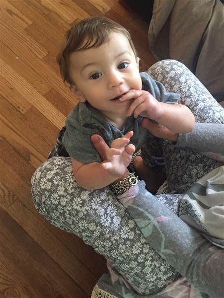 """""""We could only afford to keep either our condo or our baby,"""" writes film critic Nathan Rabin, referring to his son, Declan, """"and we're awfully attached to our little guy."""" Image: Nathan Rabin"""