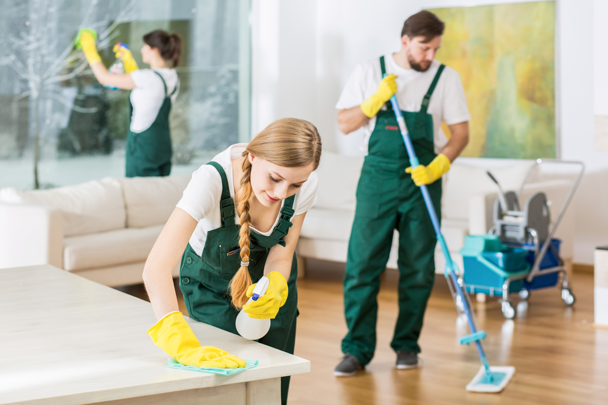 Leave The Cleaning To The Pros
