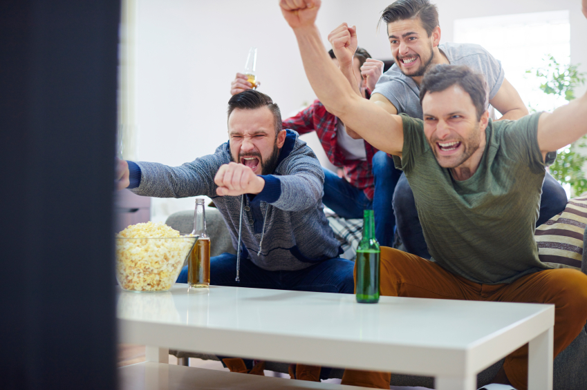 How To Arrange The Perfect Boys Night In Of Watching Sport