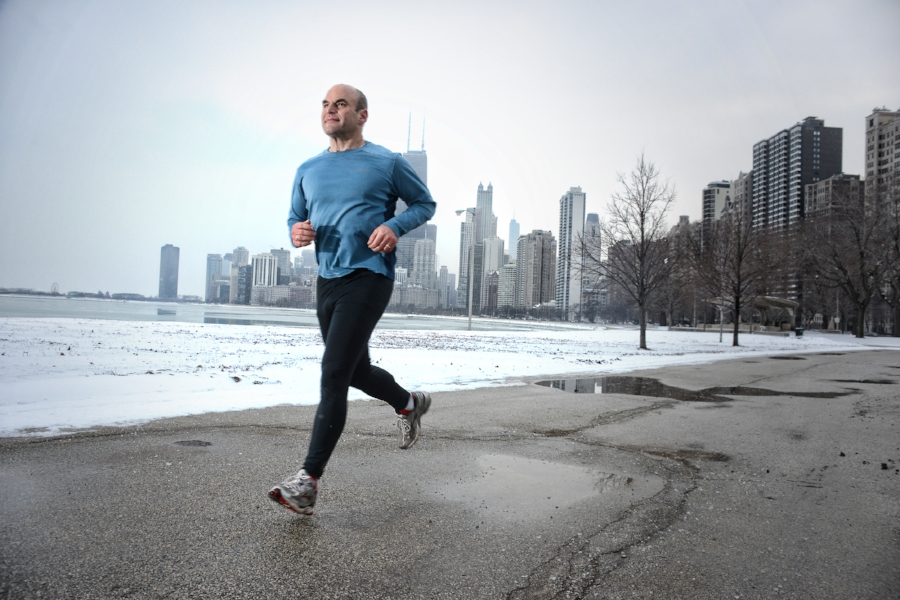 Running is one of the most common forms of exercise  ( Photo  by Kyle Cassidy)