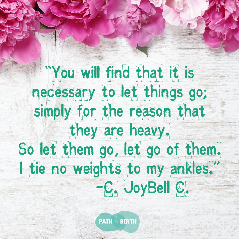 Let go of things that don't serve you TTC, fertility. IVF, infertility