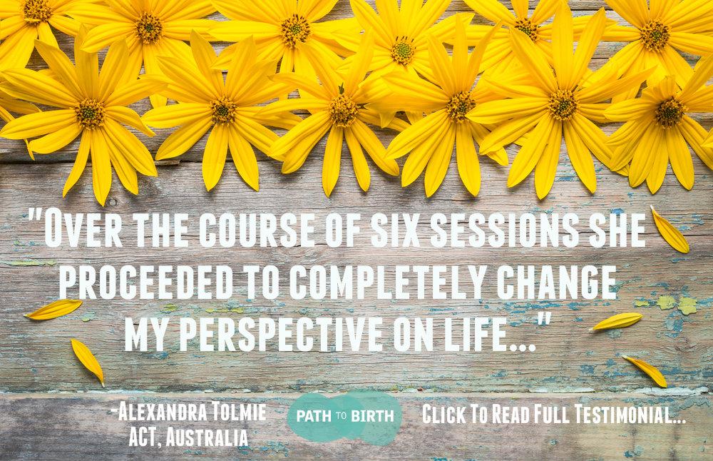 Client Testimonial, Referral, Jess Lowe Path to Birth Fertility Life Coaching