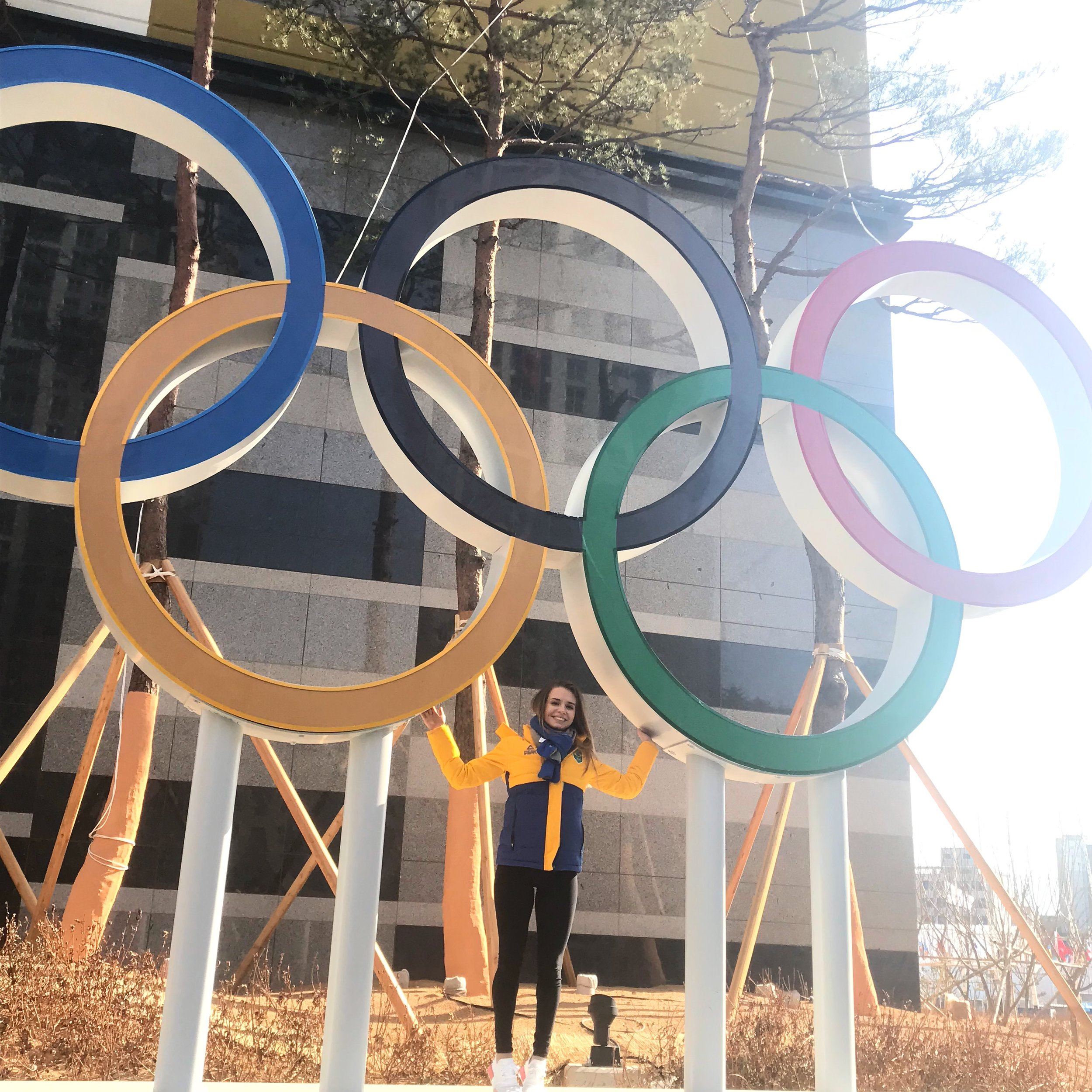 PyeongChang Olympic Games - Isadora Williams Brazilian Figure Skater
