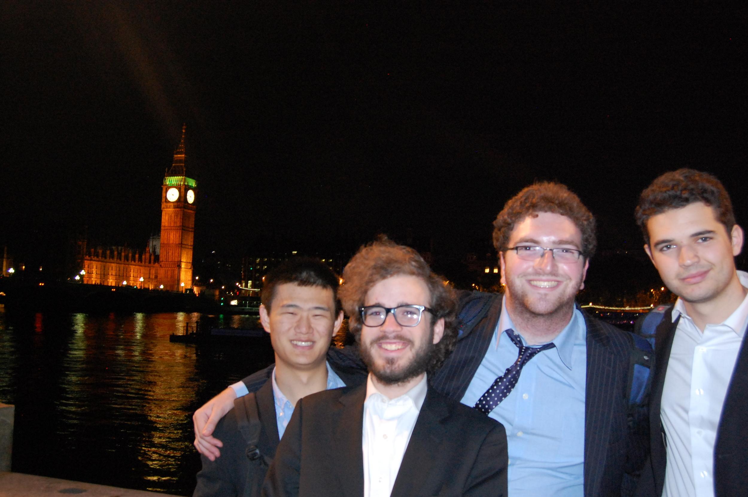 Big Ben across the River Thames