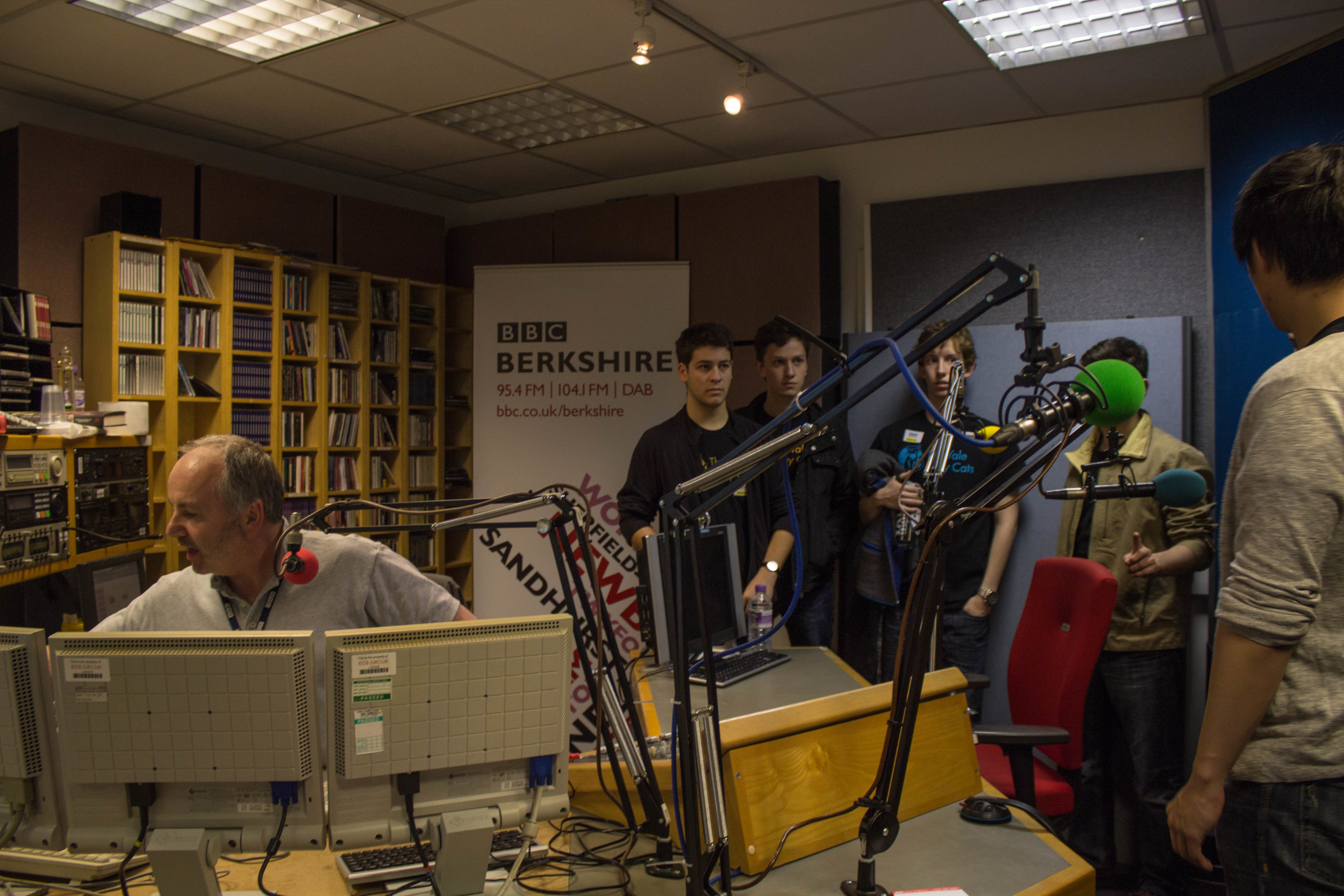 Jammin' out on BBC Radio with Phil Kennedy
