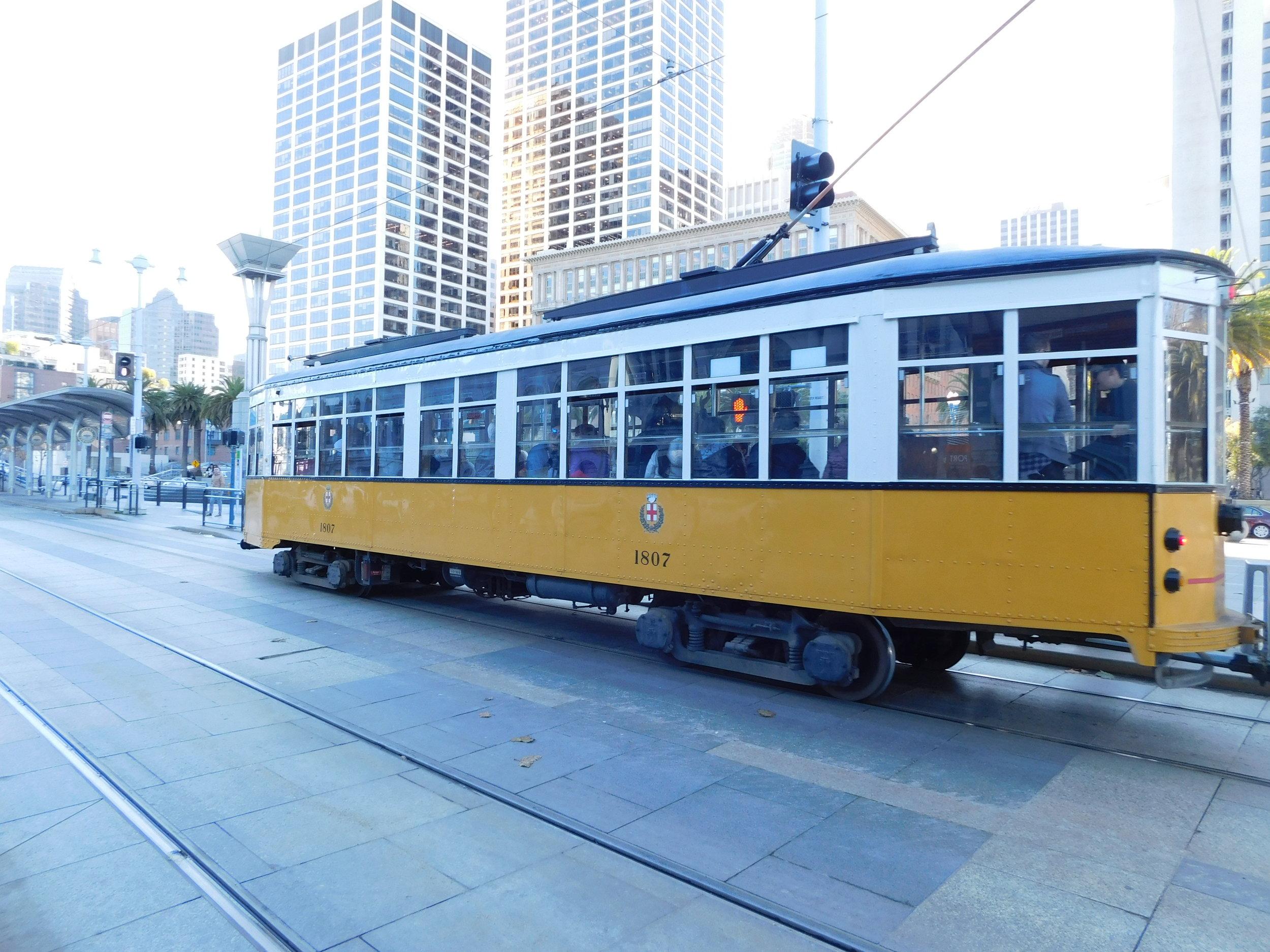 San Francisco Cable Car!