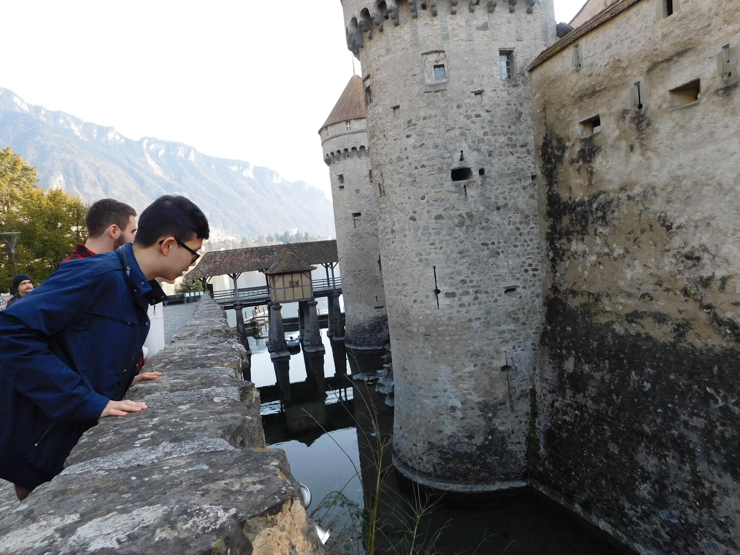 Exploring a castle