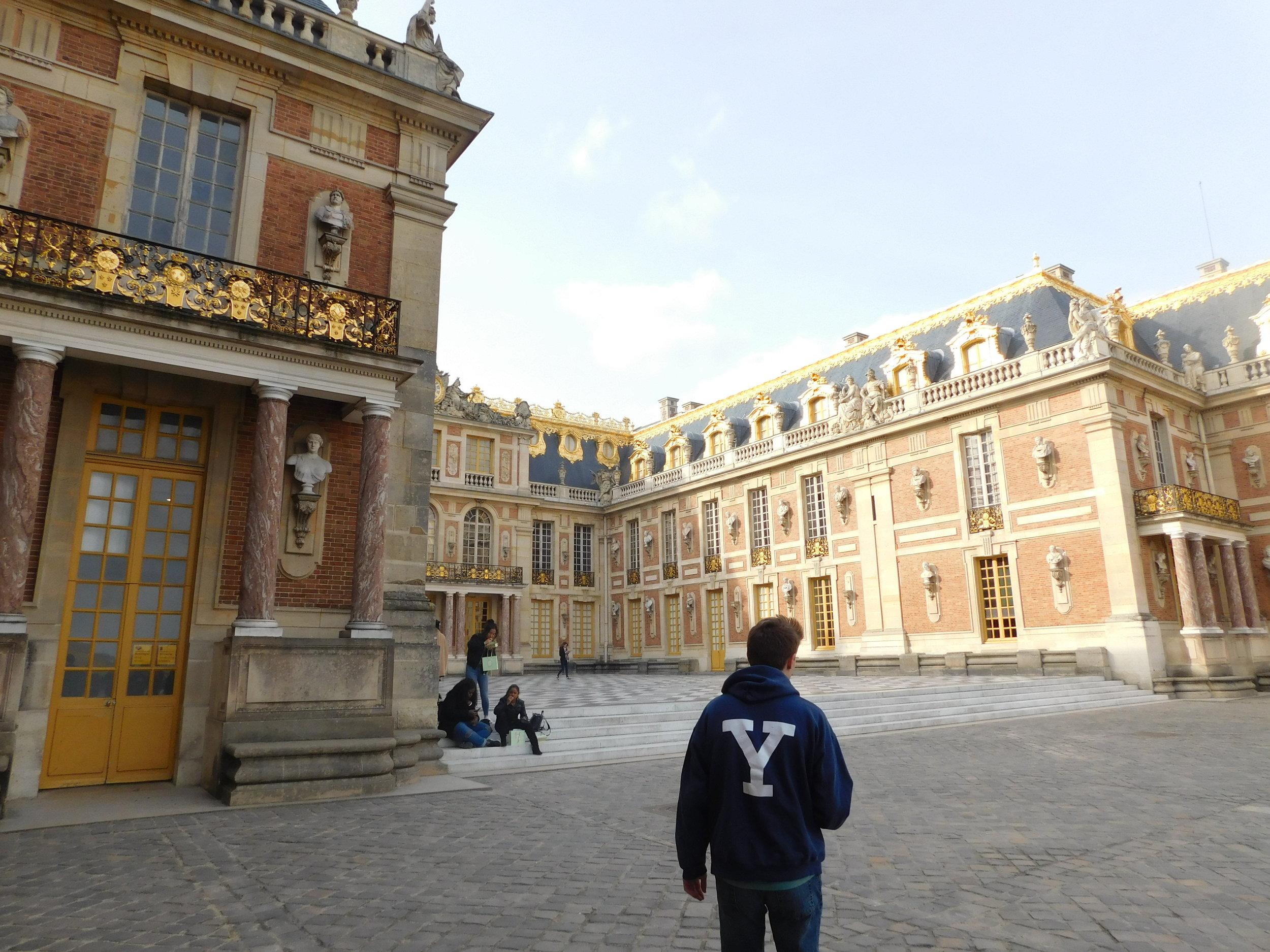 Representing Yale in Versailles!