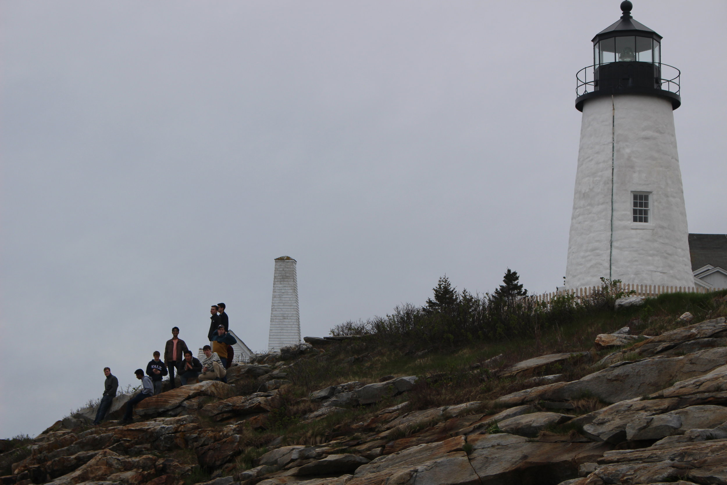 Visiting a traditional Maine Lighthouse