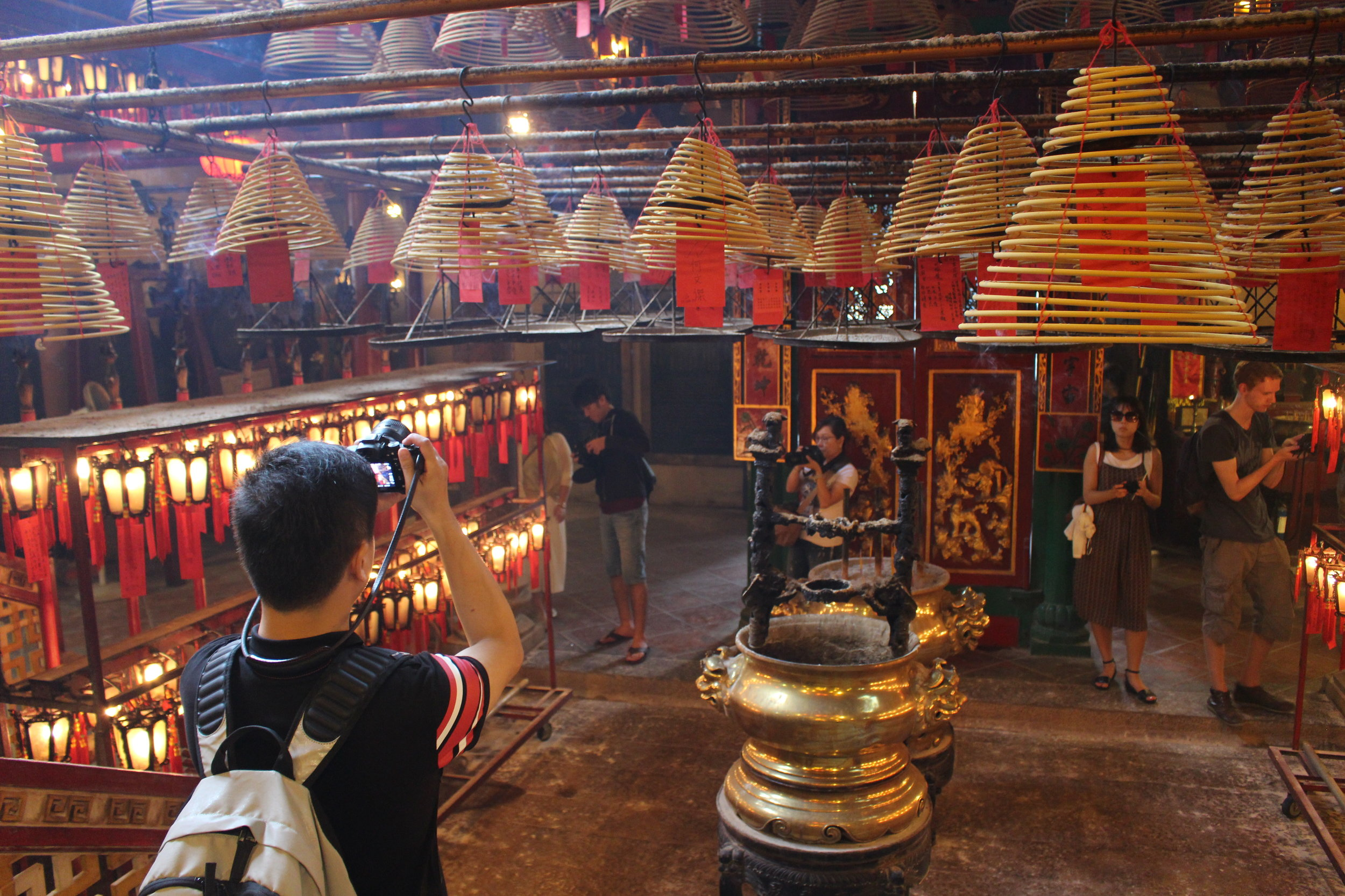 Visiting the oldest temple in Hong Kong