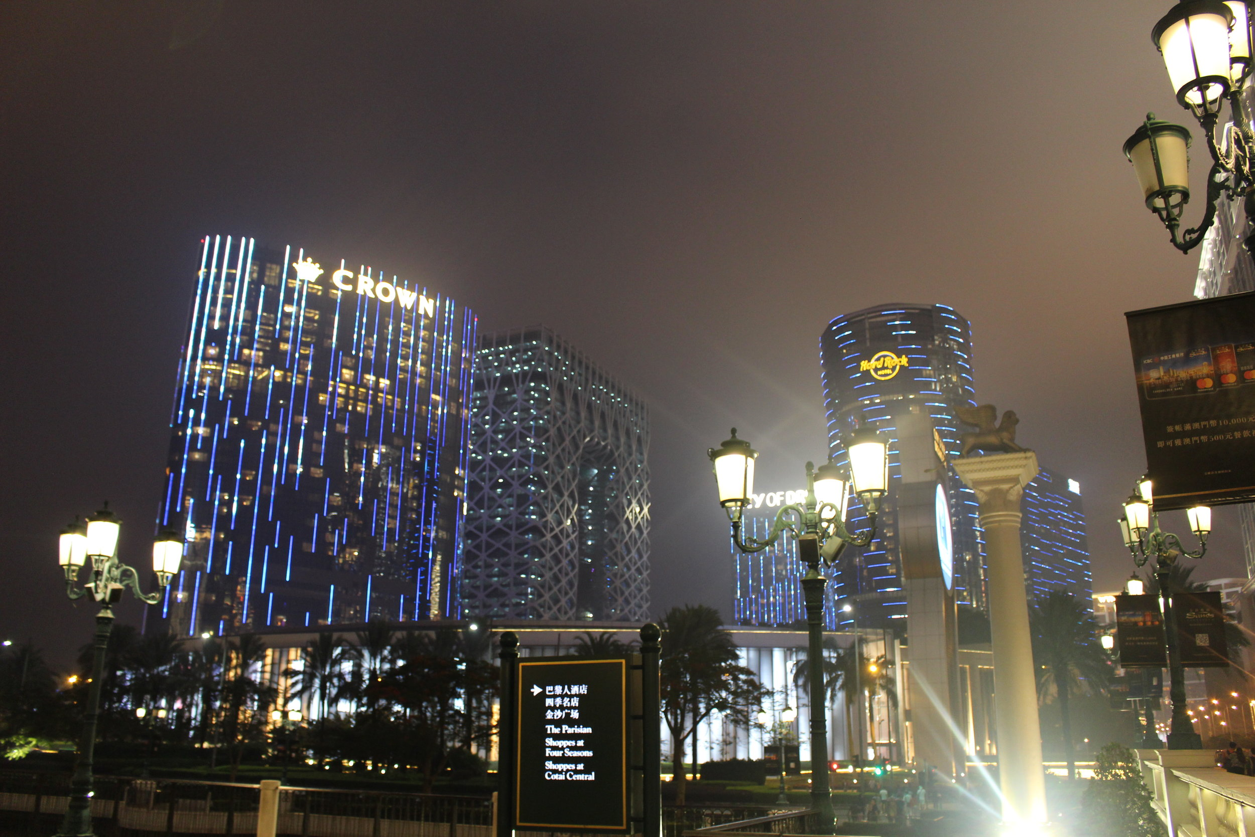 The world's second-largest casino, City of Dreams
