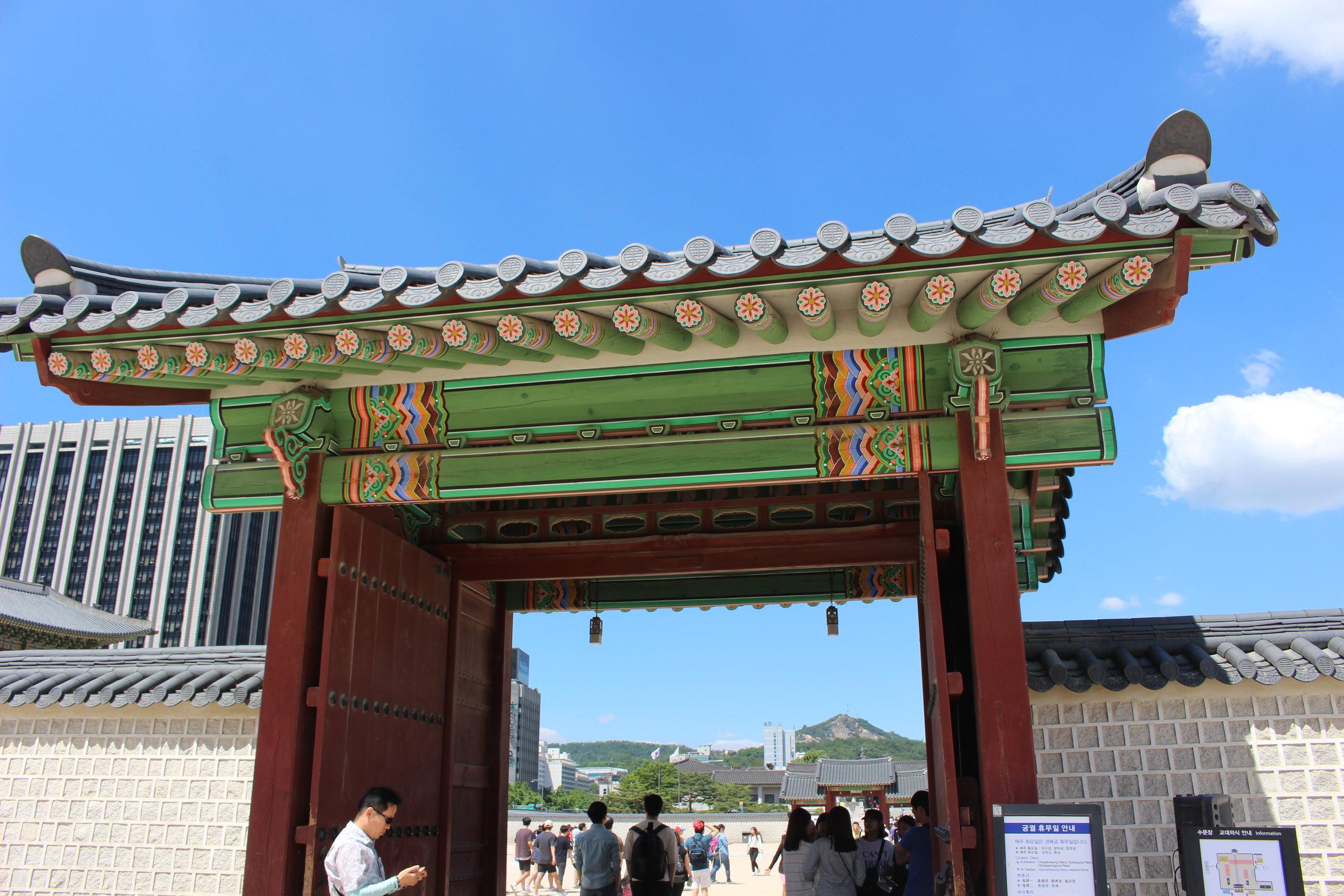Visiting Gyeongbokgung Palace